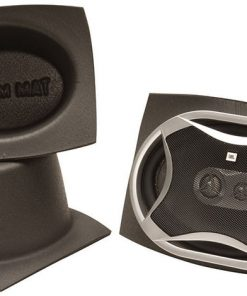 DEI Boom Mat Speaker Baffles 6 x 8 Oval Pack of 2