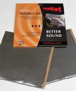 Hushmat Speaker Kit - (4) 6 x 12-Silver Foil 2 Sq. Ft.