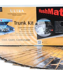 Hushmat Ultra Insulating/Damping Material Trunk Kit-Silver; 10 Sheets; 12 in. x 23 in