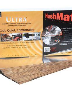 Hushmat Floor/Dash Kit Silver; 20 Sheets; 12 in. x 23 in.; 38.75 sq. ft.