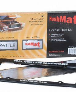 Hushmat License Plate Kit
