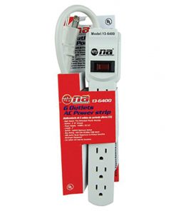 Nippon 6 Outlet AC power Strip