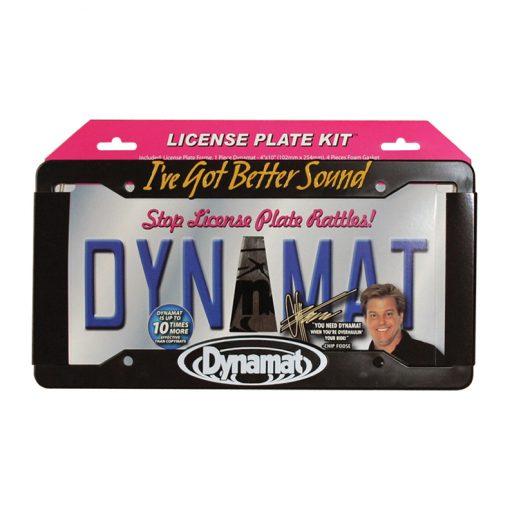 """DYNAMAT LICENSE PLATE KIT 4""""x10"""" XTREME + FRAME"""
