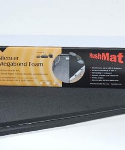 "Hushmat Silencer Megabond Thermal Insulation Sound Absorbing Foam (4) 12""x23"" 1/2"" Thick Sheets"