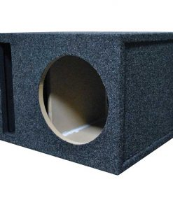 "EMPTY WOOFER ENCLOSURE OBCON SINGLE 10"" SLOT VENTED;MDF"