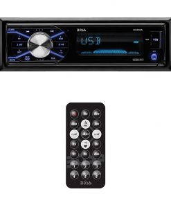 Boss Mechless AM/FM Receiver USB/SD Front Aux In Detachable Front Panel Remote