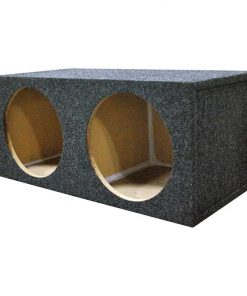 "EMPTY WOOFER ENCLOSURE OBCON DUAL 12"" SQUARE SEALED;MDF"