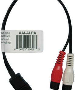 RCA/JVC STEREO CABLE INPUT PAC FOR ALPINE AI-NET RADIOS