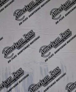"American Bass Sound Deadening 48 sq. ft. Super Bulk Kit 9 pcs 35""x20"""