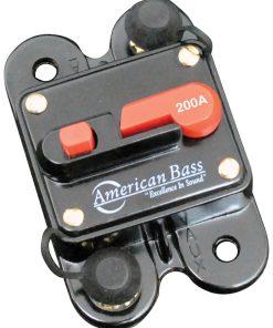 American Bass 200A Circuit Breaker Blister Pack