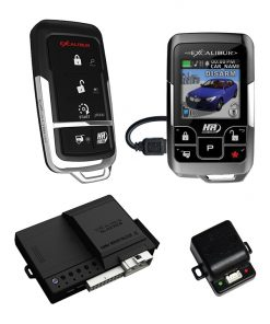 Excalibur 1 Mile Color 2 Way Security & Remote Start Alarm Combo
