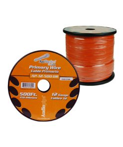 Audiopipe 12 Gauge 500Ft Primary Wire Orange