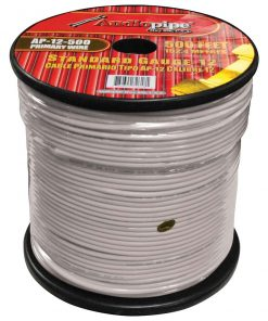 Audiopipe 12 Gauge 500Ft Primary Wire White
