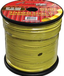 Audiopipe 12 Gauge 500Ft Primary Wire Yellow