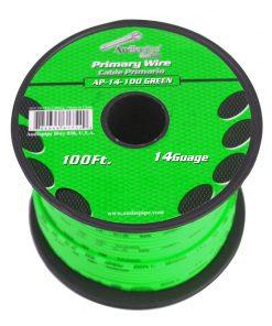 Audiopipe 14 Gauge 100Ft Primary Wire Green