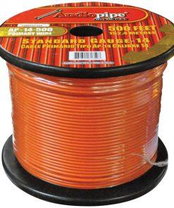 Audiopipe 14 Gauge 500Ft Primary Wire Orange