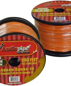 Audiopipe 16 Gauge 500Ft Primary Wire Orange