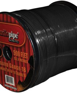 REMOTE WIRE AUDIOPIPE 18GA 500' BLACK