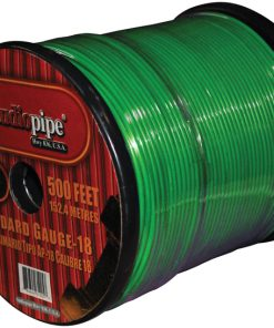 **GREEN** REMOTE WIRE AUDIOPIPE 18GA 500'