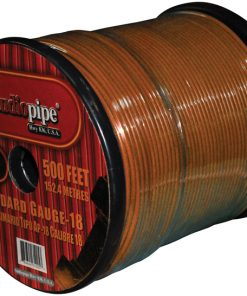 REMOTE WIRE AUDIOPIPE 18GA 500' ORANGE