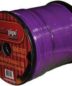 (PW18) AUDIOPIPE 18GA WIRE 500' PURPLE