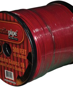 REMOTE WIRE AUDIPIPE 18GA 500' RED