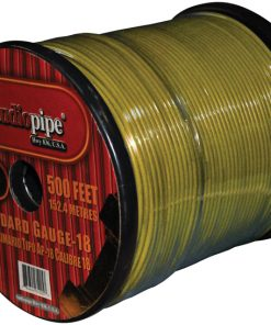 REMOTE WIRE AUDIPIPE 18GA 500' YELLOW