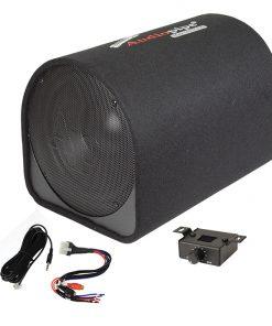 "Audiopipe 12"" Single ported bass tube enclosure600W"