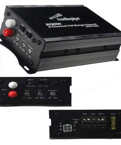 Audiopipe Mini Design 2 ch. Class D Amplifier 2X100 Watts RMS
