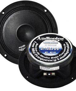 "Audiopipe 6.5"" Flat Loud Speaker 250W Max Sold each"