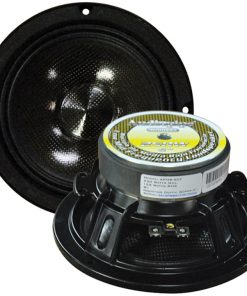 "Audiopipe 6"" Low Mid Frequency Loudspeaker (Sold each) 250W Max indoor/outdoor"