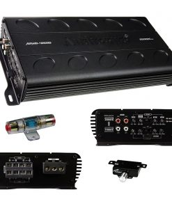 Audiopipe 4 Channel Mini Amplifier Class D 2500W