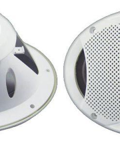 """Lanzar 6X9"""" 2-Way Marine Speakers White"""