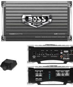 Boss Armor Monoblock Amplifier 1500W Max