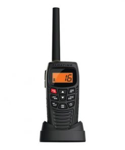 Uniden Handheld 2-Way VHF Marine Radio NOAA Weather Alert