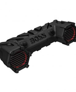 "Boss ATV Amplified Sound System   6.5"" Speakers Bluetooth RGB LED Lighting"