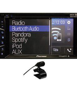 "Pioneer 6.2"" DVD D.din Receiver w/Apple Carplay BT"