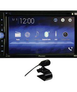 """Pioneer 6.2"""" Ddin DVD Receiver w/BTRearCam InRear USB & Aux"""