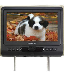 Audiovox Single Headrest w/DVD  HDMI Input & 3 Color Skins