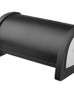 Nyne Bass Portable Bluetooth Speaker with Active Subwoofer Black/Silver