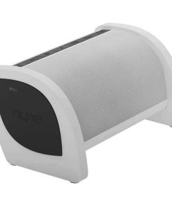 Nyne Bass Portable Bluetooth Speaker with Active Subwoofer White/Dk. Grey