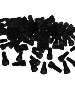 CRIMP CAPS 14-16GA.  XSCORPION 1000 PCS BLACK