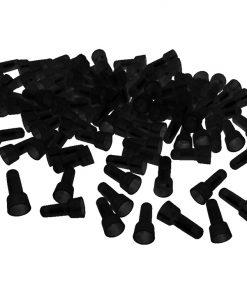 CRIMP CAPS 14-16GA.  XSCORPION 1000 PCS BLACK