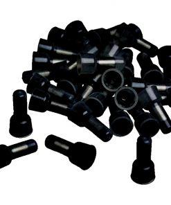CRIMP CAPS 14-16GA. 100 PACK XSCORPION BLACK