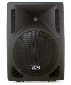 """Belva 15"""" Amplified DJ Speaker 2-way with BT 1200 Watts"""