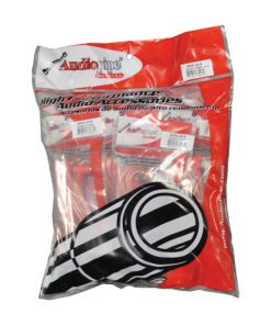 Audiopipe 3.5mm to RCA Cable 6 ft. 10Pack *BMSRA356* right angle ends