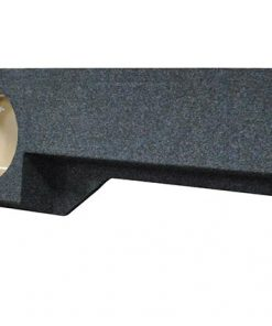 """Qpower 2-10"""" Hole Emtpy Woofer Box for 2005-Current Nissan Frontier Under seat downfire"""