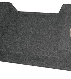 "EMPTY WOOFER BOX GMC XCAB '99-06 DOWNFIRING; 2 (12"")"