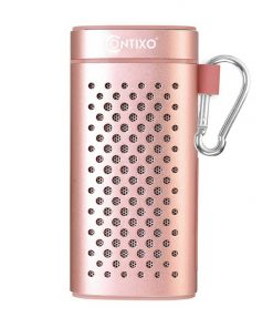 Contixo Samsung Battery Bluetooth Speaker For iphone 7 Beach Speaker 20 Hours Pink