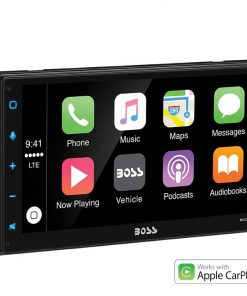 "Boss 6.75"" BLUETOOTH IN-DASH DOUBLE-DIN MECHLESS MP3-COMPATIBLE AM/FM RECEIVER"